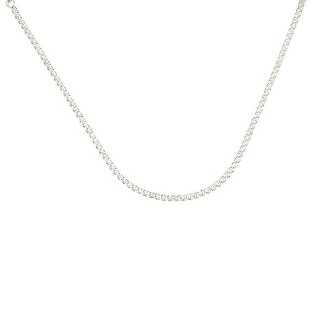 Fio prata entrelaçado - Prata 925
