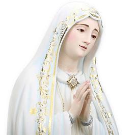 Nossa Senhora de Fátima Capelinha - Madeira 100 cm