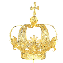 Sterling Silver 925 Crown