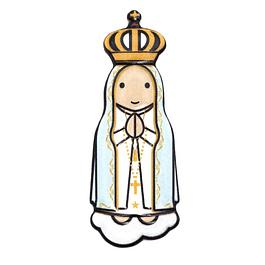 Íman 3D de Nossa Senhora de Fátima