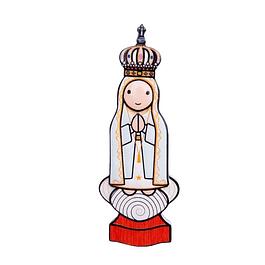 Íman 3D Nossa Senhora de Fátima Capelinha