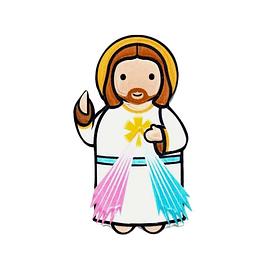 Íman 3D Jesus Misericordioso