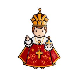 3D Baby Jesus Magnet of Prague