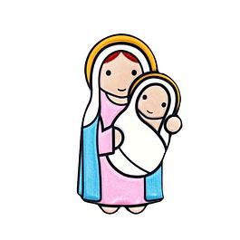 Íman 3D Amor de Mãe