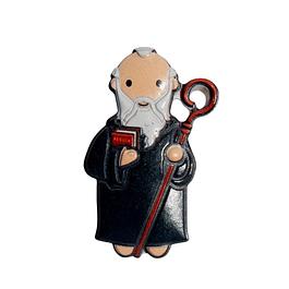 Saint Benedict 3D Magnet