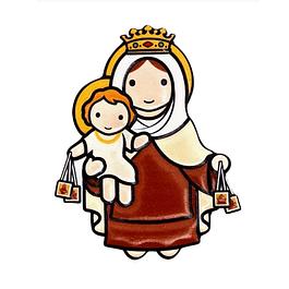 Íman 3D de Nossa Senhora do Carmo