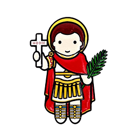 3D Magnet of Saint Expeditus