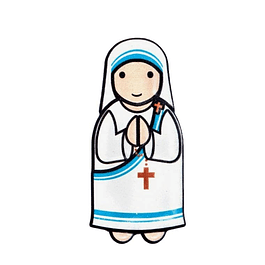 Mother Teresa of Calcutta 3D Magnet