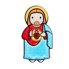 3D Sacred Heart of Jesus Magnet