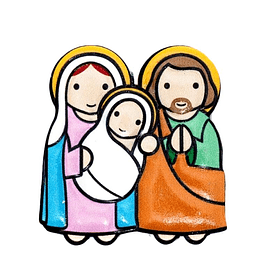 3D Magnet of Holy Family