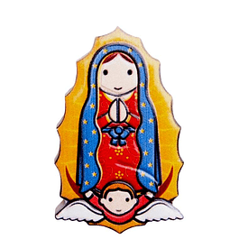 3D Magnet of Our Lady of Guadalupe