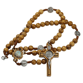 Rosary of Saint Benedict with zipper