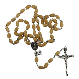 Rosary of olive seeds