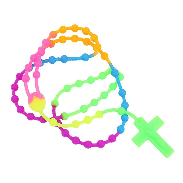 Terço de silicone várias cores