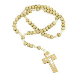 Rosary bege of wood