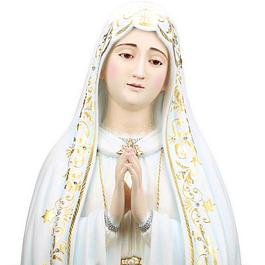 Nossa Senhora de Fátima Capelinha - Madeira 80 cm