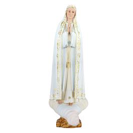 Nossa Senhora de Fátima - Pasta de madeira 60 cm