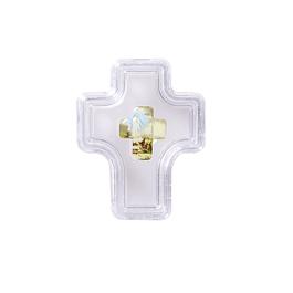 Caixa cruz com Fátima