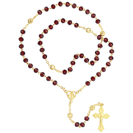 Rosary with heart
