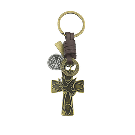 Keychain with Dove of Peace