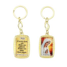 Porta-chaves com dedicatória Feminino