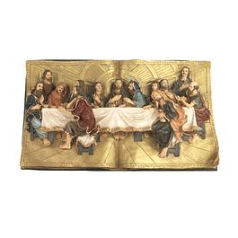 Livro Última Ceia 72 cm