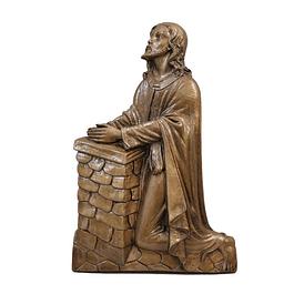 Cristo em oração 43 cm