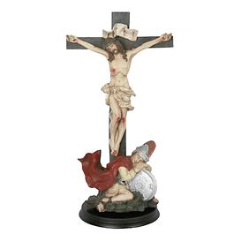 Cristo com soldado 26 cm