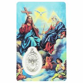 Pagela religiosa do Pai Nosso