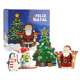 Pai Natal e Amigos