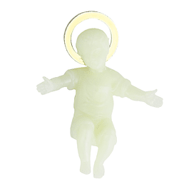 Menino Jesus fluorescente