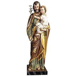 Estátua de São José madeira