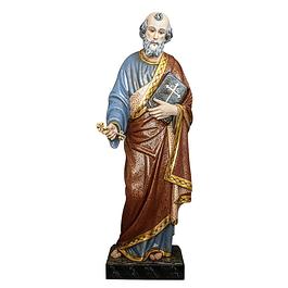 Estátua de São Pedro - Madeira