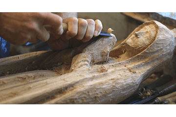 Imagens religiosas de madeira