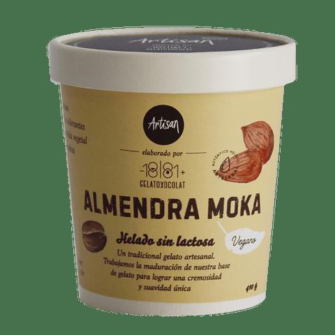 Helado Almendra Moka - Base Vegetal