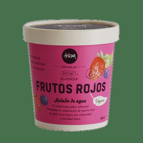 Helado Frutos Rojos - Base Vegetal