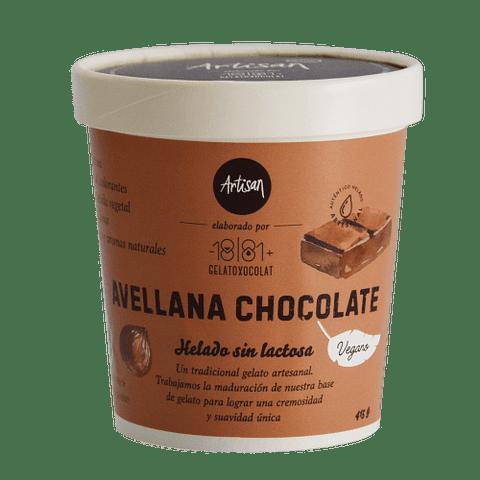 Helado Avellana Chocolate - Base Vegetal