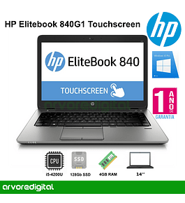 HP EliteBook 840 G1 | i5-4300U | 4Gb | 120GB SSD | 14"