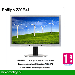Philips 220B4L 22'' Cinza