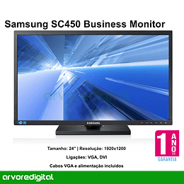 Samsung  S24C450BW Business Monitor