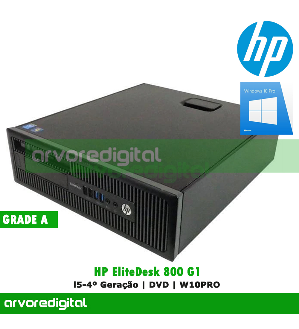 HP EliteDesk 800 G1 SFF | i5-4570