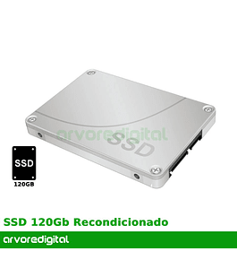 Disco Duro 2.5'' 120Gb SSD Recondicionado