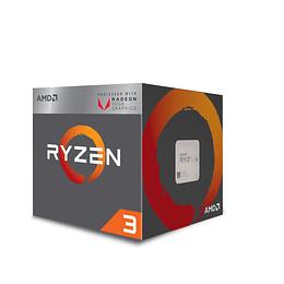 Procesador AMD Ryzen 3 2200G con gráficos Radeon Vega 8