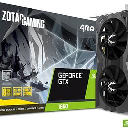 Tarjeta de Video Zotac GeForce GTX 1660 AMP