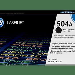 Toner impresora negro 504A HP CE250A