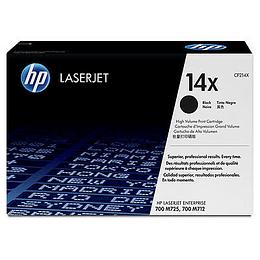Toner impresora Negro 14x HP CF214X