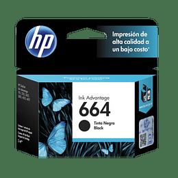 Tinta HP 664 negro