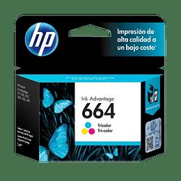 Tinta HP 664 Color