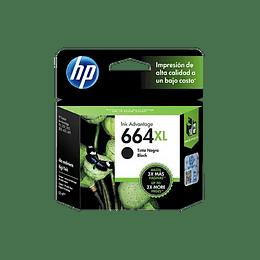 Tinta HP 664 XL Negra