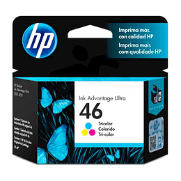 Tinta HP 46 Color